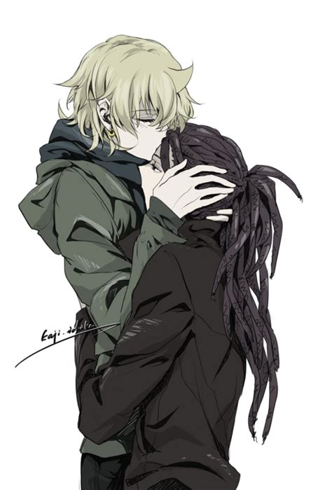 black x black manga black anime characters with dreads www imgkid com the