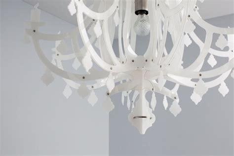 kronleuchter plastik white plastic chandelier from italy black white grey