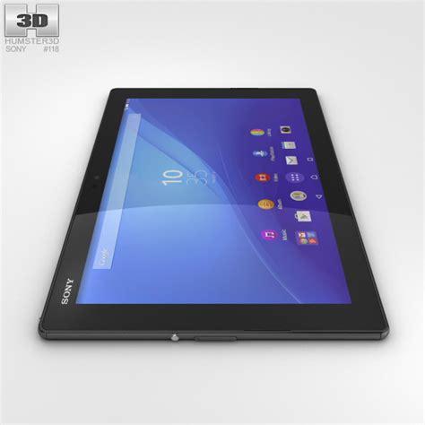 Tablet Sony Z4 Lte sony xperia z4 tablet lte black 3d model hum3d