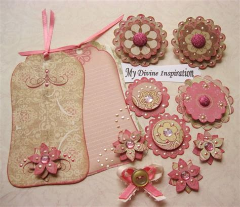 Handmade Embellishments For Scrapbooking - vintage scrapbook paper embellishments
