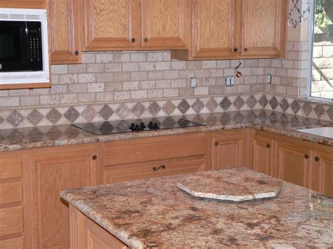 Backsplash Tile Patterns For Kitchens Kitchen Backsplash Make Over Everythingtile