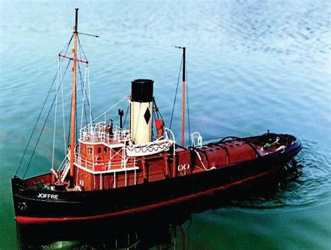 caldercraft joffre tyne tug rc model boat kit hobbies
