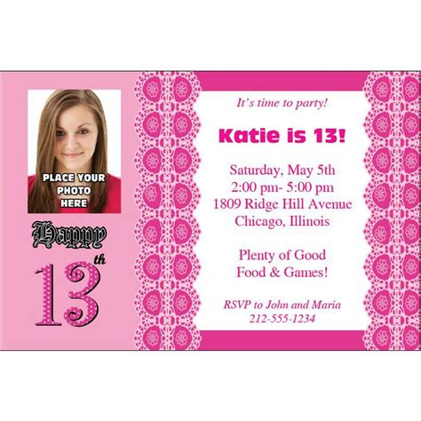 13th birthday invitations templates birthday invites how to make 13th birthday