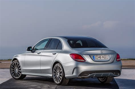 2015 mercedes c class rear view photo 7