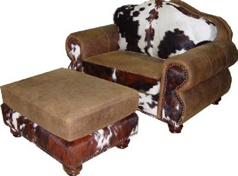 Cowhide Recliner Cowhide Western Furniture Home For Today And The