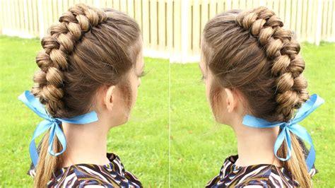 easiest type of diy hair braiding diy dutch infinity braid hair tutorial youtube