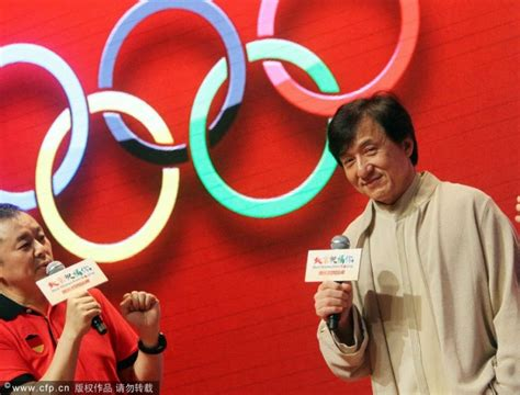 best wishes from beijing live superchan s jackie chan june 2012