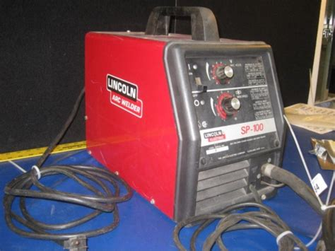 lincoln sp 100 mig welder w wire feed