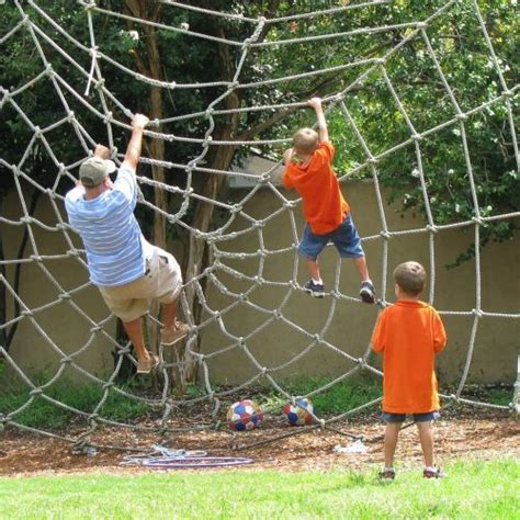 Backyard Net by Backyard Playgrounds This Backyard Playground Has A Spid