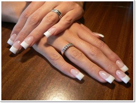 beauty 25 pattern acrylic nail tips french false nail art 25 best ideas about french tip nails on pinterest