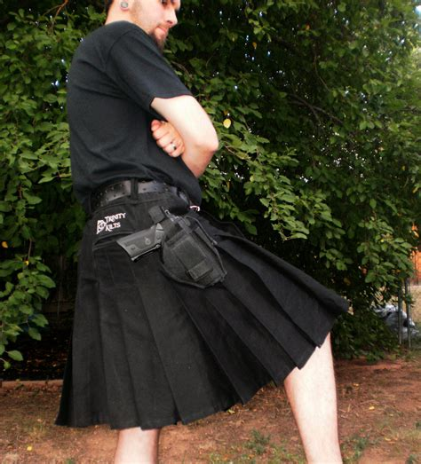 kilt etsy tactical kilt shown in black