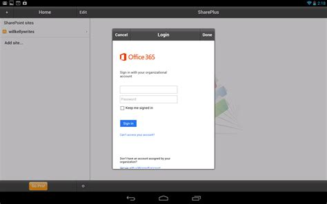 android office 365 access office 365 with an android tablet lync and sharepoint techrepublic
