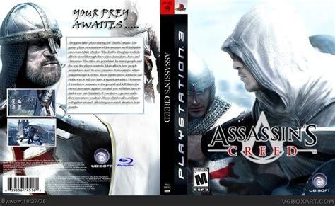 amazoncom assassins creed playstation 3 artist not assassin s creed playstation 3 box art cover by wow