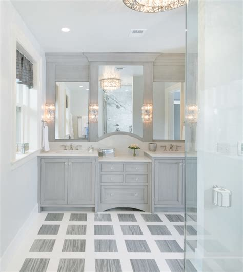 Bridge Faucet Kitchen marble bathrooms bathroom transitional with master bath