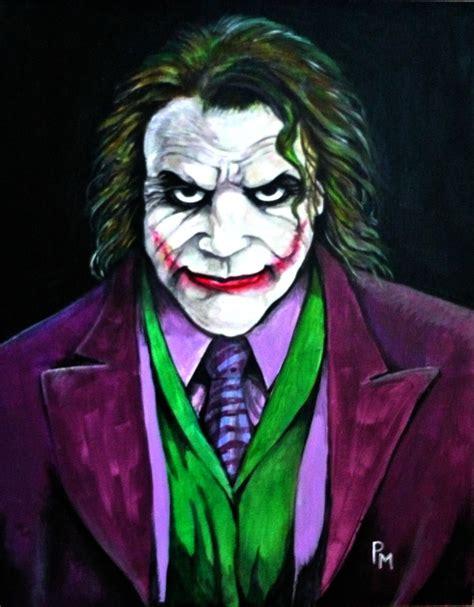 acrylic joker painting joker painting by pm graphix on deviantart