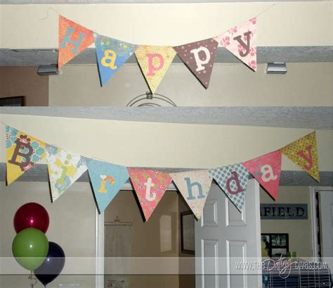 How To Make Decorations For Birthday by Birthday