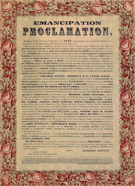 when did abraham lincoln issue the emancipation proclamation the emancipation proclamation was signed by president