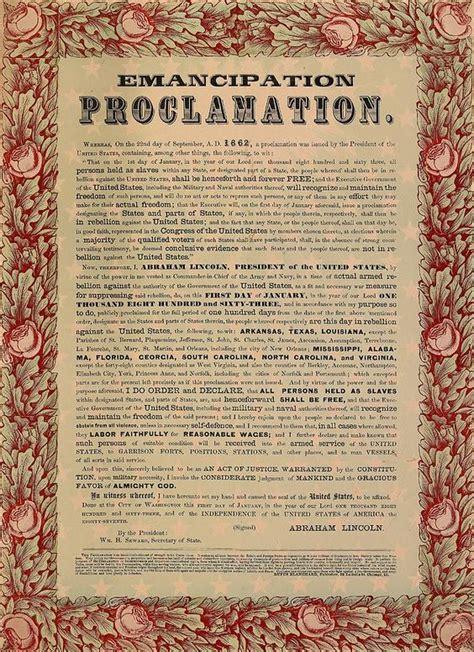 abraham lincoln biography emancipation proclamation the emancipation proclamation was signed by president