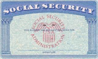 social security template blank fillable social security card just b cause