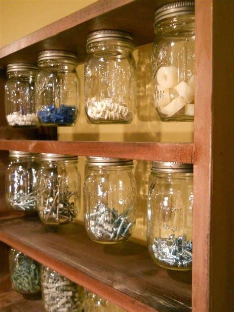 mason jar organizer ideas projects