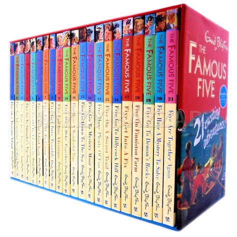 five books the five complete 21 books series classic box set