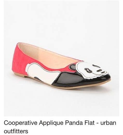 panda flats shoes shoes coral pink panda flat cooperative flat