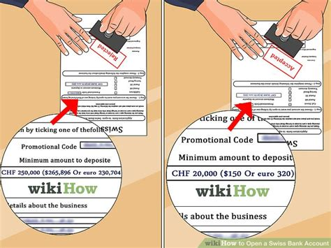 swiss bank open account how to open a swiss bank account with pictures wikihow