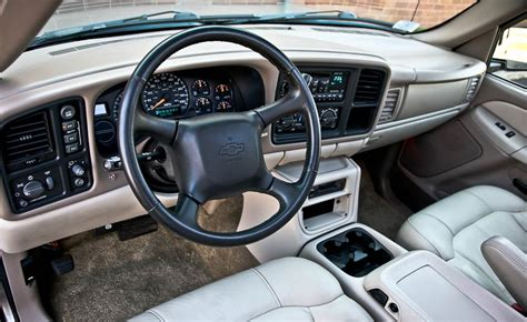 Chevrolet Tahoe Interior by 2002 Chevrolet Tahoe Interior Pictures Cargurus