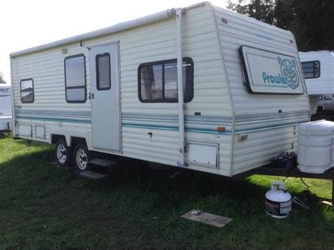 Kitchen Cabinets Moncton by 1994 Prowler 24 Ft Travel Trailer Duncan Cowichan