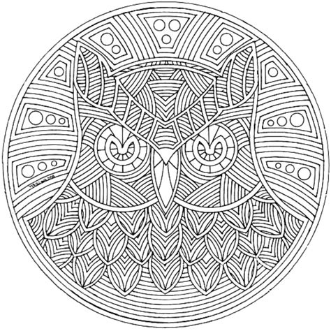 coloring book review complex print complex coloring pages owl