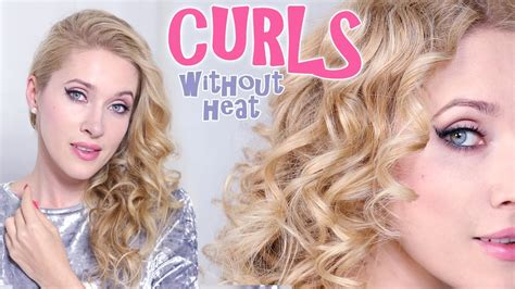 how to curl bob hair xuts without heat spiral curls without heat that last how to curl your hair