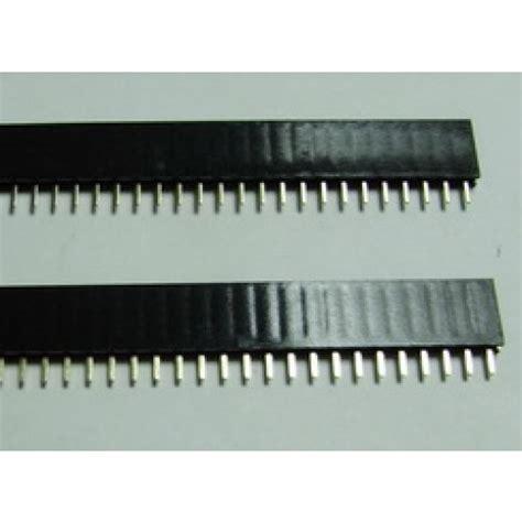 Pin Header 40p Single Row Arduino 1 40 pin 2 54 mm single row pin header