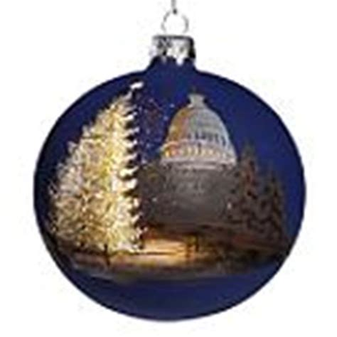 capitol christmas tree ornament