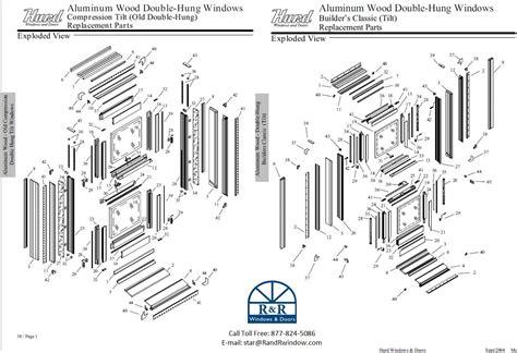 hung window parts diagram hung single hung identification help