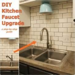 diy kitchen faucet diy kitchen lighting upgrade led cabinet lights