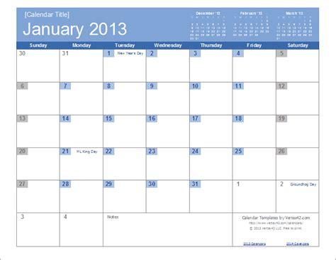2013 calendar templates free calendars and calendar templates printable calendars