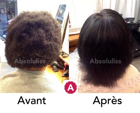 lissage br 233 silien sur cheveux afro photos avant apr 232 s