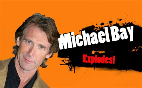 Michael Bay Meme - michael bay explodes super smash bros 4 character
