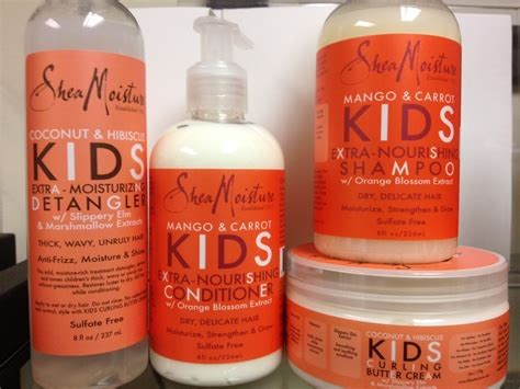 the best natural hair products for children sheamoisture launches mango carrot for kids