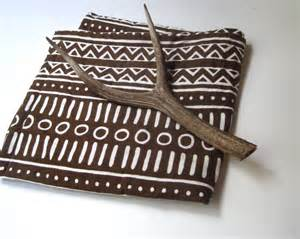 baby quilt organic tribal bedding vintage brown and