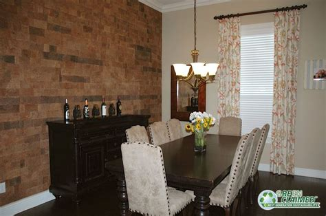 dining room tiles says the meadow cork wall tiles brought