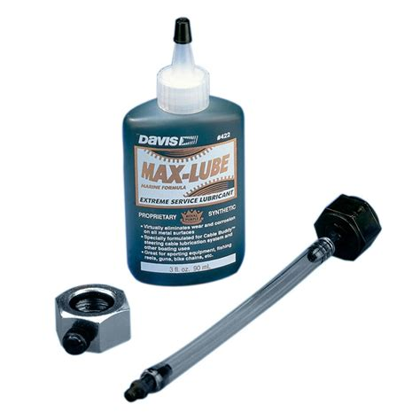 marine steering cable lubrication davis cable buddy max lube boat marine steering cable