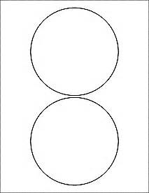 six inch circle template labels circle labels ol9950 5 quot circle