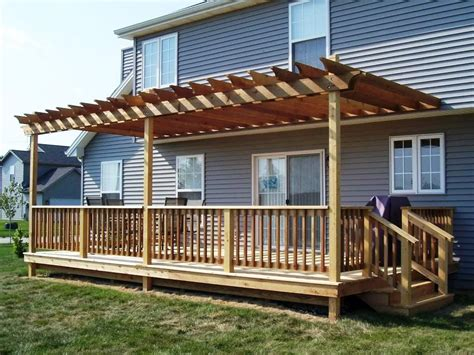 exterior design and decks pergola design ideas pergolas on decks image of pergola