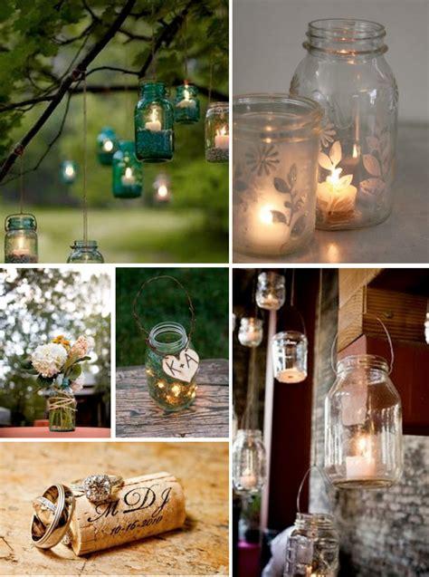 country home decorating ideas country canning jar idea lynns wedding ideas