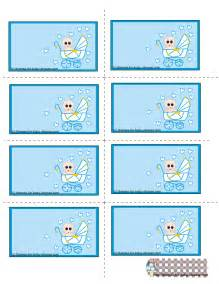 baby shower label template free printable blue baby shower labels