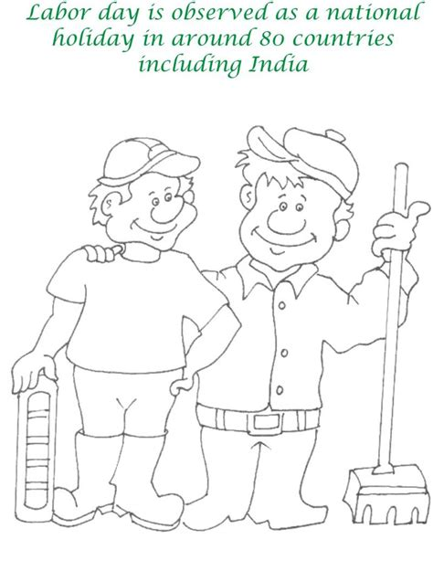 printable coloring pages labor day labor day printable coloring pages