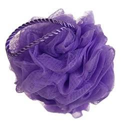 224 la paix mesh exfoliating bath sponge shower pouf pack