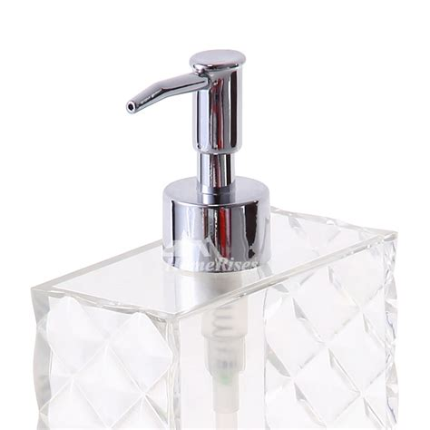 Modern Bathroom Soap Dispenser Simple Modern White Plastic Bathroom Liquid Soap Dispenser