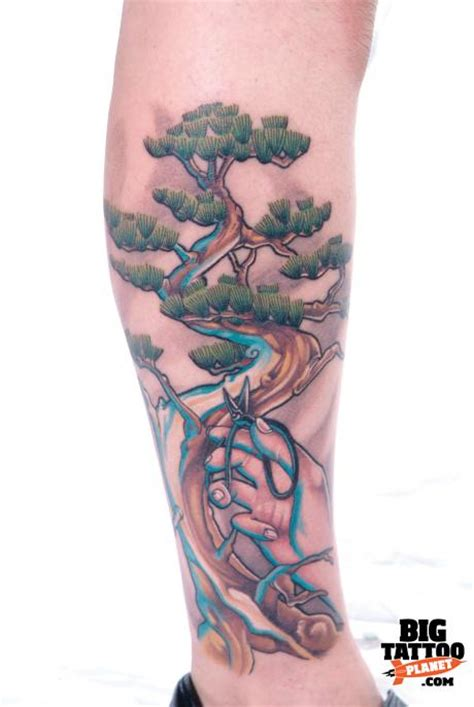 bonsai tree tattoo fashion and bonsai tree